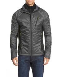 Smartwool - Gray 'phd Propulsion 60' Hooded Waterproof Jacket for Men - Lyst