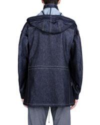 E. Tautz - Blue Mid-Length Jacket for Men - Lyst