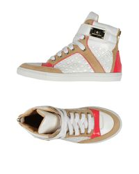 Elisabetta Franchi | White High-tops & Trainers | Lyst
