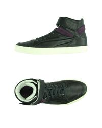 Alexander McQueen X Puma - Black High-tops & Trainers for Men - Lyst