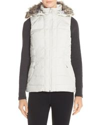 The North Face - Gray 'gotham' Vest - Lyst
