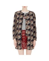 Étoile Isabel Marant - Black Women's Reversible Erri Coat - Lyst