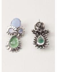 Iradj Moini | Green Floral Earring | Lyst