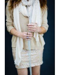 Adina Reyter | Metallic Heart Ring | Lyst
