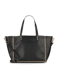 Steve Madden | Black Bravish Studded Tote Bag | Lyst
