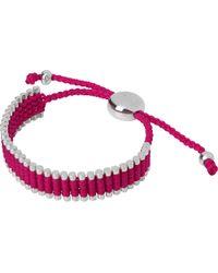Links of London | Metallic 18ct Rose Gold Vermeil Mini Friendship Bracelet | Lyst