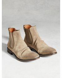 John Varvatos   Gray Fleetwood Classic Chelsea Boot for Men   Lyst