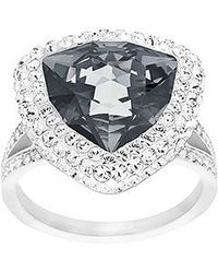 Swarovski | Metallic Begin Ring | Lyst