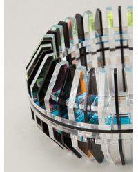 Sarah Angold Studio | Black Reflective Cuff | Lyst