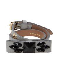 Schumacher | Gray Bracelet | Lyst