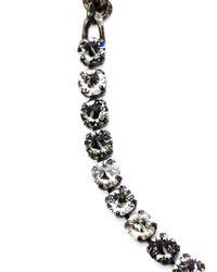 Lanvin | Metallic 'kristin' Necklace | Lyst