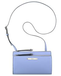 Nine West | Blue Zip N' Go Crossbody | Lyst