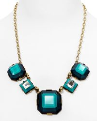 Marc By Marc Jacobs | Blue Stacked Glass Necklace 20 | Lyst