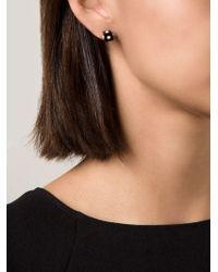 Nektar De Stagni - Black Onyx Cube Earrings - Lyst