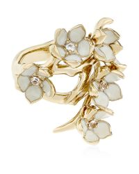 Shaun Leane | Metallic Full Cherry Blossom Ring | Lyst