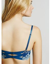 Free People | Blue Daydreamer Underwire Bra Daydreamer Hipster Daydreamer Hipster | Lyst