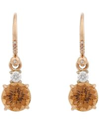 Irene Neuwirth | Metallic Diamond, Tourmaline & Multi Gold Drop Earrings | Lyst