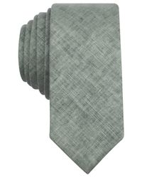 Original Penguin | Green Clay Solid Skinny Tie for Men | Lyst