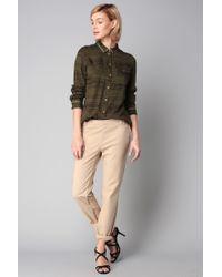 Vero Moda - White Straight-cut Trousers - Lyst