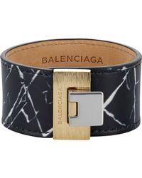 Balenciaga | Metallic Le Dix Bracelet | Lyst