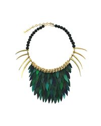 Ayaka Nishi | Short Green Fishscale Necklace | Lyst