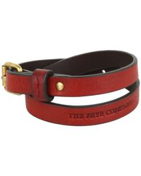 Frye | Red Wrap Cuff | Lyst
