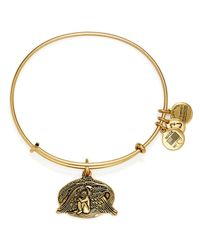 ALEX AND ANI - Metallic Guardian Of Healing Expandable Wire Bracelet - Lyst