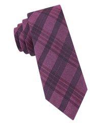 Calvin Klein | Pink Textured Tie for Men | Lyst