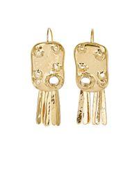 Aurelie Bidermann - Metallic Anita Organic Drop Earrings - Lyst