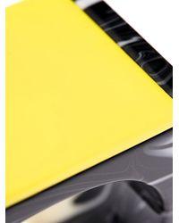 Stella McCartney - Yellow Plexiglas Stone Cuff - Lyst