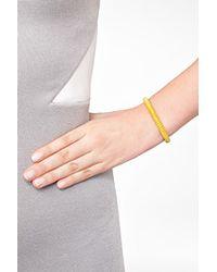 Carolina Bucci   Metallic Gold-plated Twister Bracelet In Yellow   Lyst