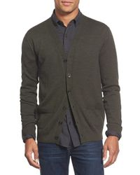 Apolis - Green Alpaca Blend Cardigan for Men - Lyst