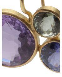 Marie-hélène De Taillac - Multicolor Three Stone Earrings - Lyst