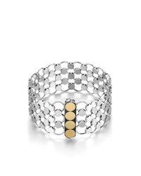 John Hardy | Metallic Dot Chain Mail Bracelet | Lyst