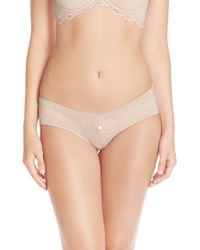 Skarlett Blue - Natural 'adore' Briefs - Lyst