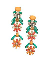 H&M | Multicolor Long Sparkly Stone Earrings | Lyst