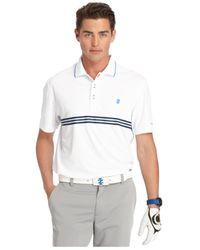 Izod | White Interlock Golf Polo for Men | Lyst