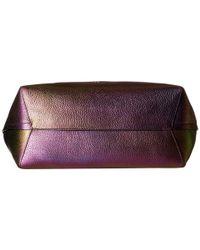 COACH | Multicolor Market Hologram Leather Tote | Lyst
