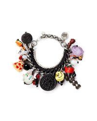 Venessa Arizaga | Multicolor 'baby Got Snack' Bracelet | Lyst