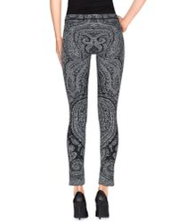 Patrizia Pepe - Gray Leggings - Lyst