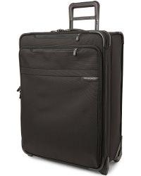 Briggs & Riley | Black Baseline Medium Expandable Upright Suitcase 61cm | Lyst
