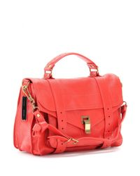 Proenza Schouler - Red Ps1 Medium Leather Tote - Lyst
