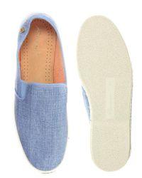 Rivieras - Light Blue Jean Espadrilles for Men - Lyst