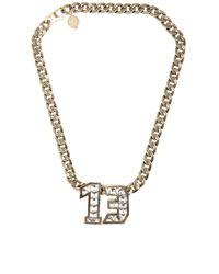 Lanvin | Gold Necklace | Lyst