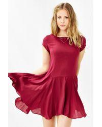 Kimchi Blue - Red Jainey Trapeze Dress - Lyst