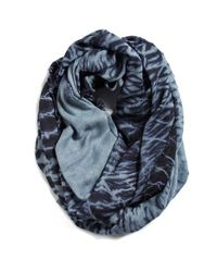 BCBGeneration | Blue 'One To Watch' Infinity Scarf | Lyst
