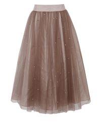 Coast | Pink Selbessa Tulle Skirt | Lyst
