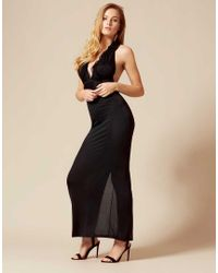 Agent Provocateur - Bettina Cover Up Black - Lyst
