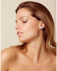 Agent Provocateur - Multicolor Candella Crystal Earrings Rose - Lyst