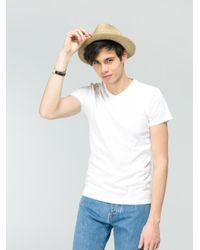 Agnes B. - White Tight T-shirt for Men - Lyst